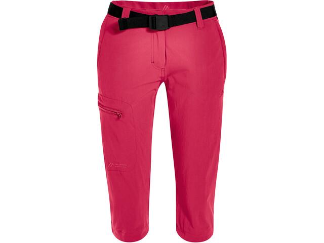Maier Sports Inara Slim Pantalones 3/4 Mujer, rosa